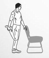 peregangan melipat kaki