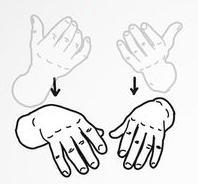 peregangan tangan